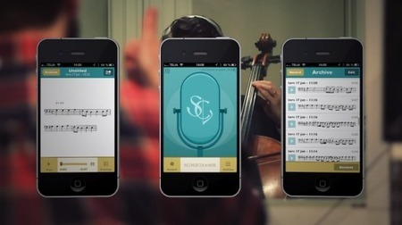 New app listens to your melodies, then writes them out in notation | Science is Cool! | Scoop.it