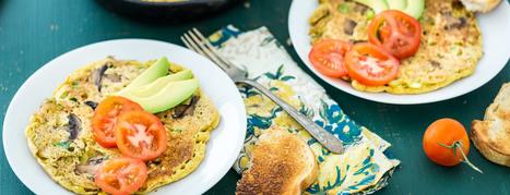 Chickpea Omelet Recipe   My Vegan recipes   Scoop.it