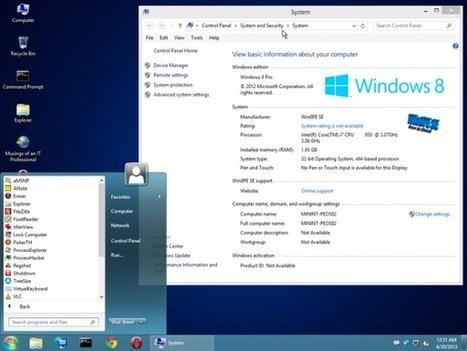 CD dépannage en Windows 8 : Gandalf's WIN8PE | Time to Learn | Scoop.it