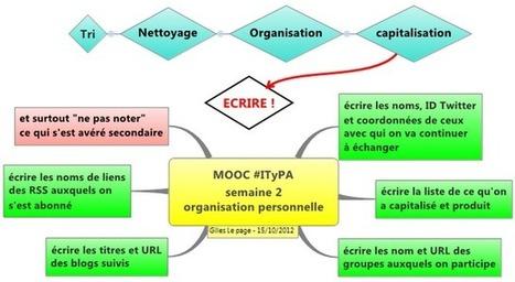 MOOC #ITyPA: Travaux semaine 2 : tri, nettoyage, organisation ! | E-pedagogie, apprentissages en numérique | Scoop.it