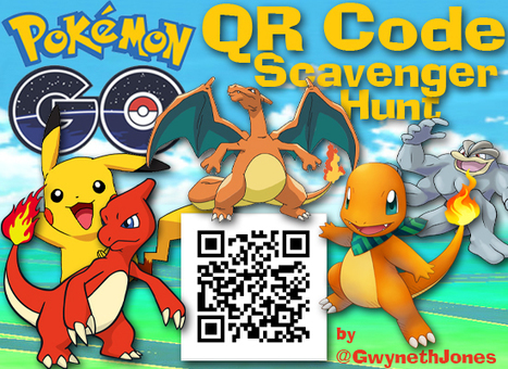 Pokemon Go QR Code Library Scavenger Hunt | Gamification for the Win | Scoop.it