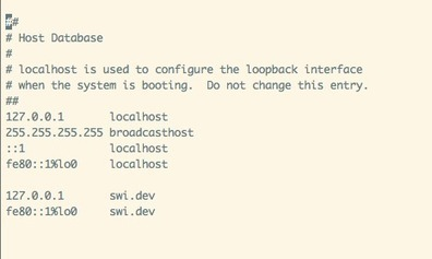 Setup Sub Domain in OSX 10.9 Mavericks | Get Apache, MySQL, PHP With mcrypt and phpMyAdmin working on OSX 10.9 Mavericks | Scoop.it