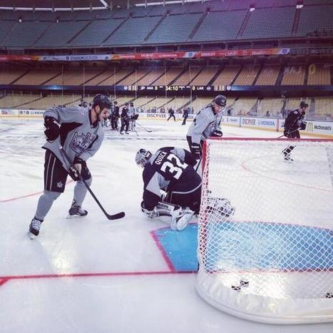 Twitter / LAKings: Outdoor hockey in LA ... | Hockey | Scoop.it