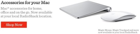 RadioShack Now Offering Mac Accessories - Mac Rumors | Entertainment And Gadgets | Scoop.it
