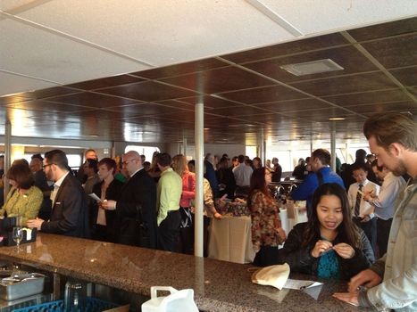 Photo of the Day: Prime Time Mixer aboard the Spirit of Seattle | LGBT Online Media, Marketing and Advertising | Scoop.it