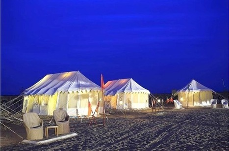 Camping in The Arid Desert of Rajasthan | Glamour World! | Scoop.it