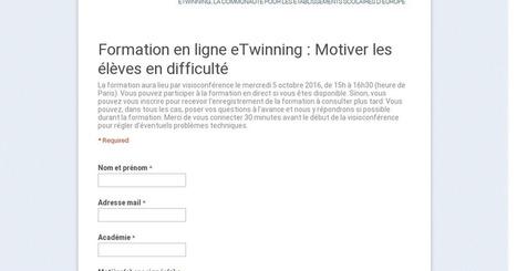 Formation en ligne eTwinning : Motiver les élèves en difficulté | TICE et éducation en Corse | Scoop.it