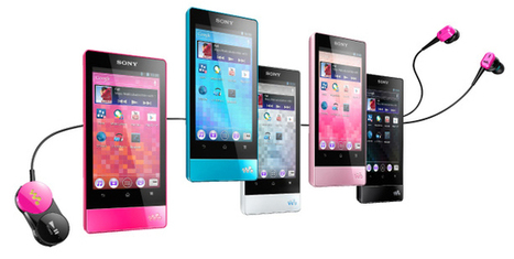 Sony NW-F800 Walkman: nuevos reproductores multimedia con Android | Mobile Technology | Scoop.it