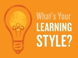What Is Your Learning Style? | Thinking about, and refelcting upon lessons, learning, questioning, life... | Scoop.it