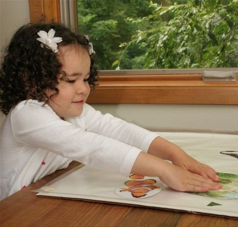 Sticky Paper Collage for Spanish Conversation {Activity}   SpanglishBaby™   Preschool Spanish   Scoop.it