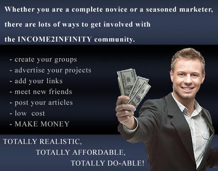 Income2Infinity - Make Money Online! | Engineer Betatester | Scoop.it