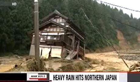 Le Japon secoué par un nouveau séisme et en proie à d'importantes inondations   Japan Tsunami   Scoop.it