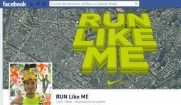 Run Like Me, une initiative mêlant course, art et réseaux sociaux par Nike Japan : Veille du Brand Content | marques & social media | Scoop.it