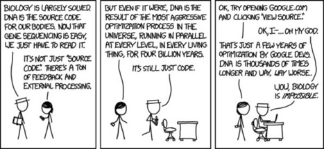 xkcd: Google vs DNA, which is  better ?   Bioinformática   Scoop.it
