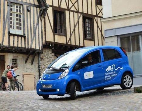 ERDF. Deux jours au volant d'une auto électrique, dans Laval (53) | SandyPims | Scoop.it