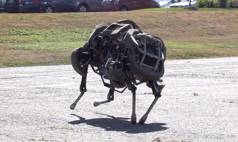 WildCat, le robot- « chat sauvage » capable de galoper jusqu'à 26 km/h | It's a geeky freaky cheesy world | Scoop.it