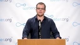 Why Matt Damon won't go to the toilet | mm | Scoop.it