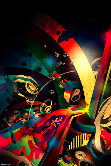 34 Pieces of Digital Graffiti for Inspiration | Visual Inspiration | Scoop.it
