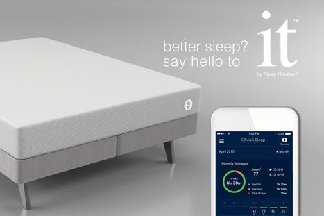 [CES] Sleep Number propose un nouveau lit connecté plus accessible : le it bed | Aménagement des espaces de vie | Scoop.it