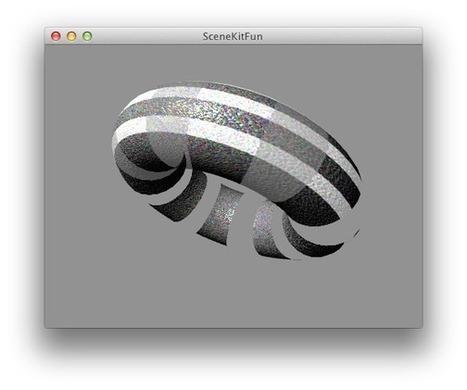 iPhone Development: An Introduction to SceneKit   Core Animation 1   Scoop.it