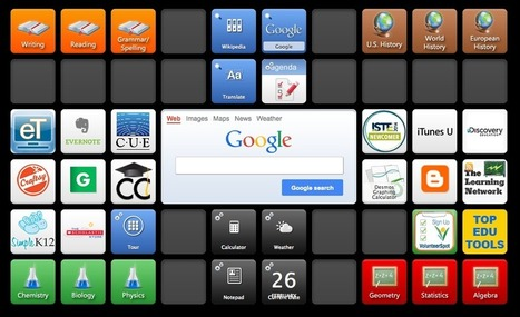 Symbaloo: The 'iGoogle For Education' Is Our New Homepage | Global Education Database | Maximizing Business Value | Scoop.it