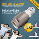 A010 Moon light,E27 LED focus spotlight for coffee bar lighting | LEDing the life online shop,LED focus spotlight | Save money whilst upgrading to LED lighting without paying up-front. | Scoop.it