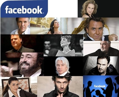 Opera singers : who has the largest facebook community? - opera-digital.com | Opera singers and classical music musicians | Scoop.it