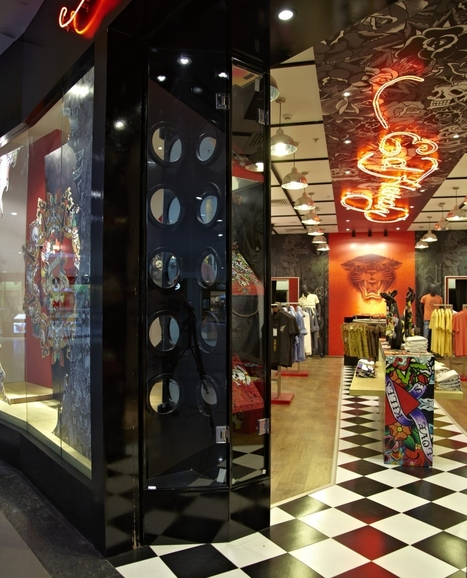 Ed Hardy fashion store by Restore Solutions, Bangalore | Luxury & Fashion Markets in India | Scoop.it