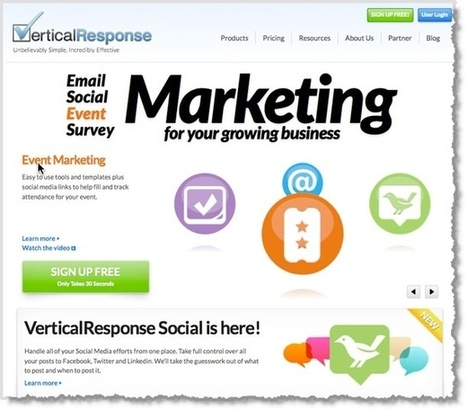 5 Email Marketing Tools to Help You Grow Your Business | Small Business Marketing | Scoop.it