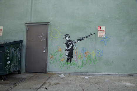 Banksy Goes To Hollywood | Art, Design & Technology | Scoop.it