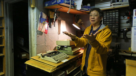 Finessing Typewriters for Nearly 40 Years, and Now Turning Over the Keys | Narrativa y sociedad | Scoop.it