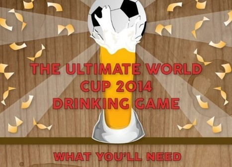 The Ultimate World Cup 2014 Drinking Game [INFOGRAPHIC] | Everything from Social Media to F1 to Photography to Anything Interesting | Scoop.it