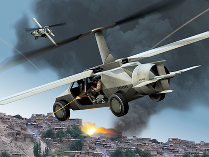 The U.S. Military Wants to Get in the Flying Car Business | space, travel, logistics, TULEVAISUUSVISIOT | Scoop.it