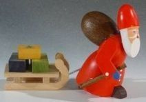 German Wood Santas | German Christmas | Scoop.it
