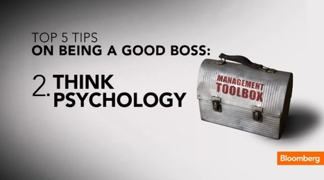 The Five Tips You Need to Be a Better Boss | Manage your Manager | Scoop.it