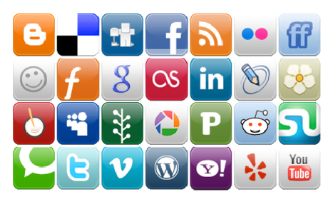 37 Ways to Use Social Media to Market Your Website | Redes sociales, Tics, Internet, | Scoop.it