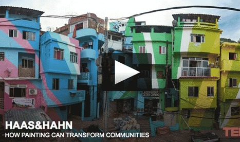 Web Marketing Lessons From Favela Painting TED talk by Haas & Hahn | Curation Revolution | Scoop.it