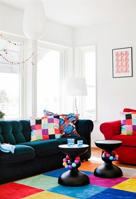 Une vie suédoise en couleurs     PLANETE DECO a homes worldPLANETE DECO a homes world   Céka décore   Scoop.it