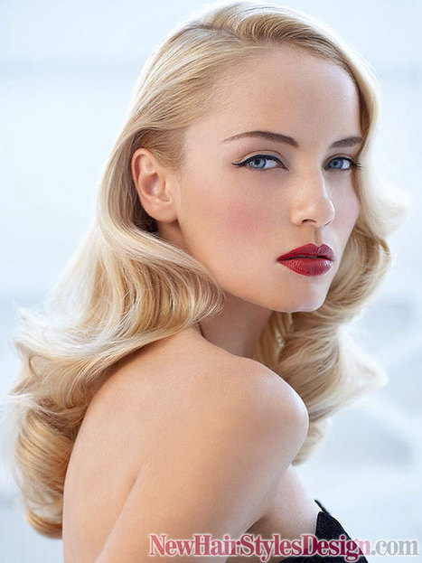 Vintage Hairstyles with Waves | fashion and style | Scoop.it