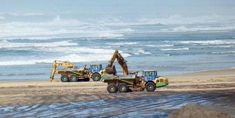 L'océan à l'assaut des plages - Sud Ouest   L'actu de l'écotourisme   Scoop.it
