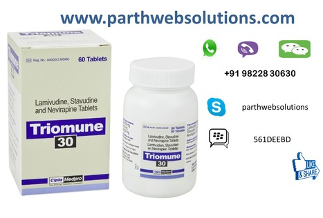 Emtri Tablets, Triomune (Lamivudine, Stavudine,...