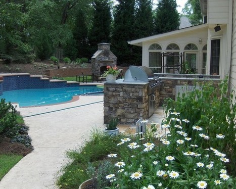 Hardscaping Ideas Design Ideas, Pictures, Remodel, and Decor | Hardscaping Ideas in Kennesaw | Scoop.it