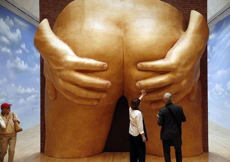 Un cul géant exposé en Angleterre pour la postérité | les expositions et musées | Scoop.it