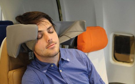 Finally, Someone Designed an Airplane Seat Headrest That Actually Looks Comfortable | ALBERTO CORRERA - QUADRI E DIRIGENTI TURISMO IN ITALIA | Scoop.it