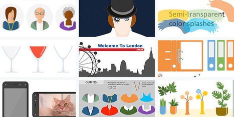 50 Free PowerPoint Graphic Design Assets for E-Learning Designers | Éducation, TICE, culture libre | Scoop.it