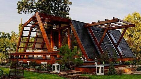 Une maison écologiquement intelligente et pleine de charme qui ne coûte que 50.000 euros | IMMOBILIER 2015 | Scoop.it
