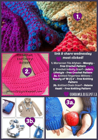 Time to Link Up! Link & Share Wednesday Week 15 is LIVE! Hope to see you here :) | Crochet | Scoop.it