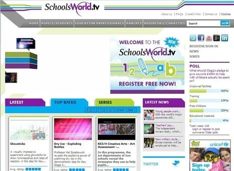 Schoolsworld, colección de vídeos educativos clasificados por materia y nivel. | Educación,cine y medios audiovisuales | Scoop.it