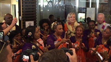 Marine LE PEN est à Mayotte | Veille des élections en Outre-mer | Scoop.it
