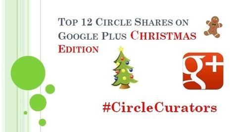 Top 12 Circle Shares On Google Plus Christmas Edition #Listly #CircleCurators - @RandyHilarski | Social Media News | Scoop.it
